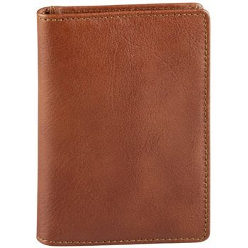Oil Tanned Italian Credit Card Wallet