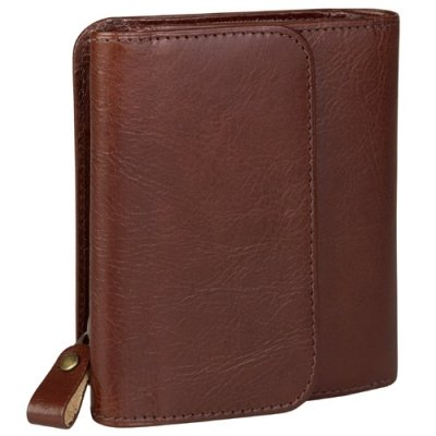 Show Card Wallet w/ Zip Coin Pocket