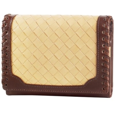 Basket Weave Medium Clutch
