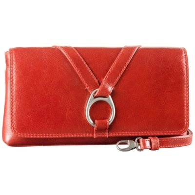 EW 3/4 Flap Convertible Clutch