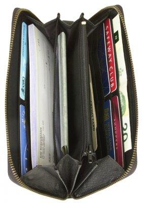 Full Zip Multi Compartment Clutch