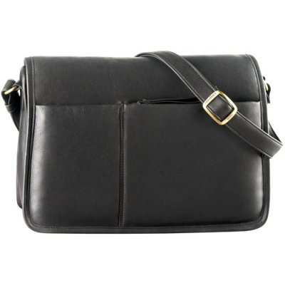 EW Full Flap Semi Structured Shoulder Bag