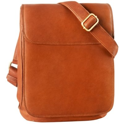 NS half flap shoulder bag