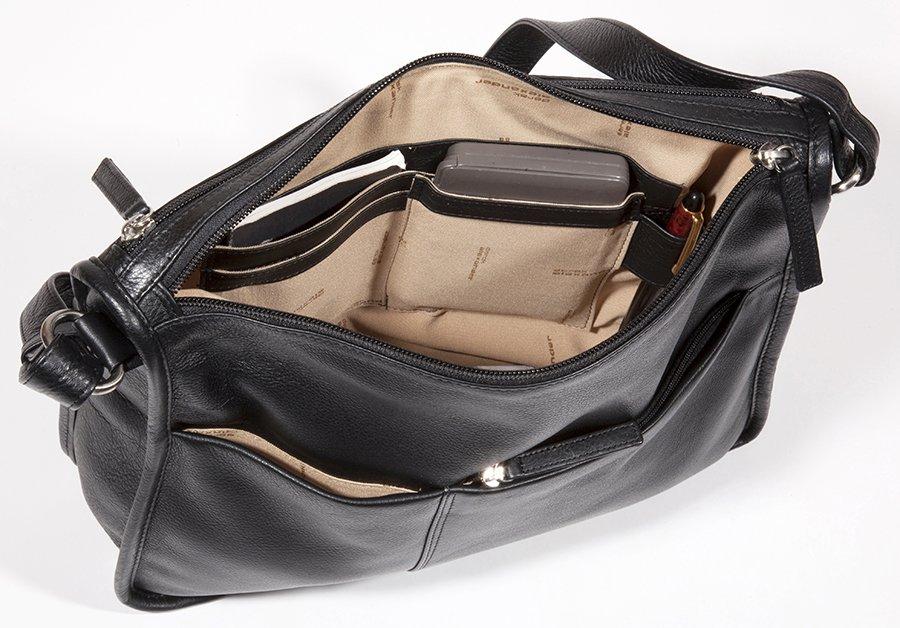1235e1a75b40 Twin Top Zip Shoulder Bag